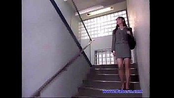 kana office bad good style lady 2 sakai in Skinny thai dee