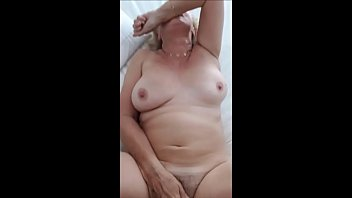 boy granny catches wanking old Classy redhead gets cumshot after pussy pounding