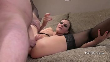 stockings laure sainclair Shy wife shared with couple