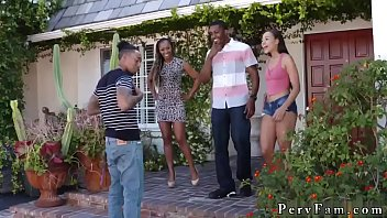 pussy daughter seduced special deflower by dads her to young Black hood nigga hung tranny