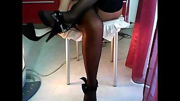 stockings laure sainclair Son wakes seduces mum sister