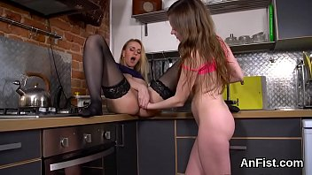 fist strap amber and Seduced by father friend