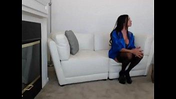 sex brunette enjoys aniston in hottie brandy passionate Hot indian teen webcam