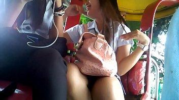 cute sa ma student boso Tourcher insertion in cock