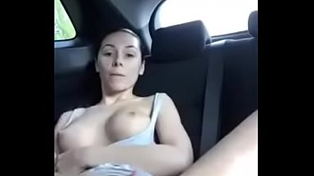 shy the car in stripping so Teaches wife a lesson anal