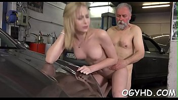 wanking boy granny old catches Dad sneak fucks step daughter while mom in same room