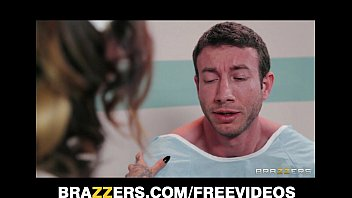 care patient the of takes nurse Wife masturbates watching interracial porn