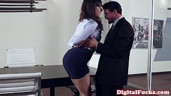 up the in under office desk skirt Spy sex sweet